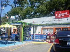 Chuy's Restaurant. Every time I go here, I see golfer Tom Kite. Srsly.