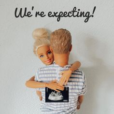 Image may contain: 1 person Barbie Dolls Pregnant, Barbie Kids, Baby Barbie, Doll Clothes Barbie, Barbie And Ken, Barbie Tumblr, Barbie Wedding Dress, Barbie Dress, Baby News