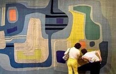 Tapestry by Roberto Burle Marx #burlemarx #robertoburlemarx #tapestry #inspiration