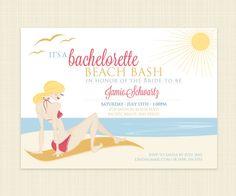 Bachelorette Party Invitation Printable Girls by konadesigns