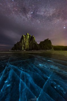 The Milky Way over Shamanka Rock - null