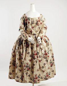18th century girl's dress via The Costume Institute of the Metropolitan Museum of Art