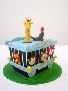 Join me in this fun 2-day course creating a cute Circus Train Cake. The Circus Train Cake is ideal for various occasions including: ...