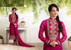 Beautiful Designer straight Cut bollywood Salwar by MYDELHISTORE