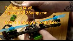 OMNIBUS F4 V6 - TYPHOON 32 35AMP ESC - RC QUICK FIX - UPDATE What You See, Hope You, Channel, Link, Music, Musica, Musik, Muziek