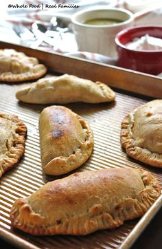 Whole Wheat Empanada Dough from Whole Food | Real Families. Get the recipe at www.wholefoodrealfamilies.com.