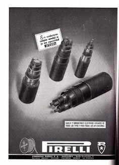 VintageAdvertising: Pirelli 1959 #vintage #ads #advertising #publicidad #gráfica #retro