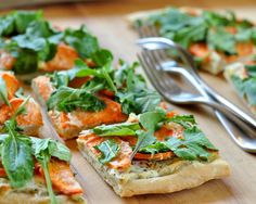Recipe: Sweet Potato, Ricotta & Arugula Flatbread — Appetizer Recipes from The Kitchn