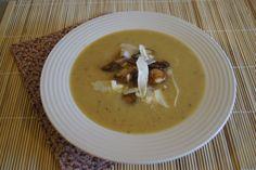 Roasted Garlic Soup | Slender Kitchen