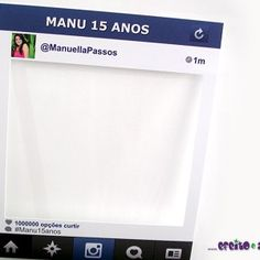 Moldura Instagram Facial, Personal Care, Instagram, Frame, Plates, Ticket Invitation, Fiestas, Love, Ideas