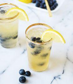 Blueberry Bourbon Vanilla Lemonade.