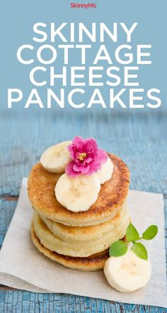 Skinny Cottage Cheese Pancakes: Youve never had pancakes like these before!