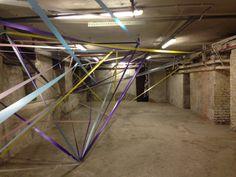 The Small - spazio espositivo - piano interrato - Paolo Gonzato installation