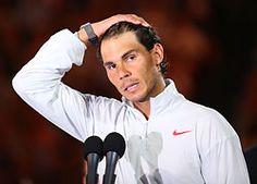 Rafael Nadal made an emotional speech at the end of the match. ATP World Tour - Official Site of Men's Professional Tennis. Tennis Tournaments, French Open, Women's World Cup, Australian Open, Rafael Nadal, Wimbledon, Sports News, Tours, Health