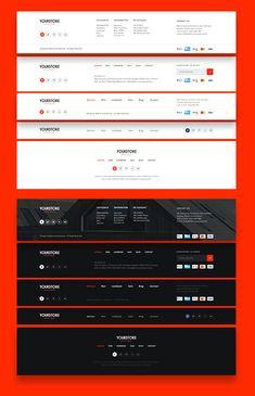 Design Website Footer Ideas Source by Monzzinga Wireframe Design, Navigation Design, Footer Design, Web Design Tips, Interface Design, Ui Ux Design, Design Process, Design Ideas, Layout Design