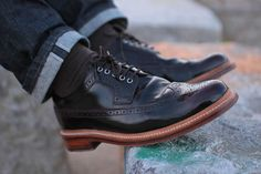 Brogue shoes Grenson #Brogue #shoes #grenson #chaussures #commeuncamion