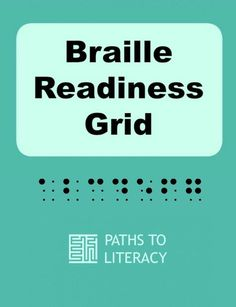 Is your child or student ready to learn braille? Use this grid checklist to see what prerequisite skills are necessary. John Dewey, Student Teaching, Teaching Resources, Visually Impaired Activities, Braille Reader, Geo Board, Early Literacy, Visual Impairment, Special Education