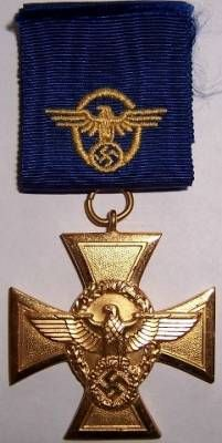 Long Service Award of the Police 25 Years.