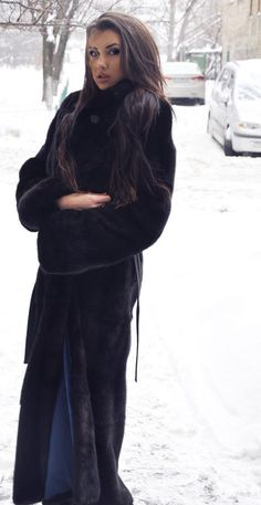 Long Mink Fur Coat..... I think my heart just stopped.