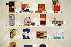 Imagining Famous Artists' Homes Designed in Their Signature Styles | Lost in Internet