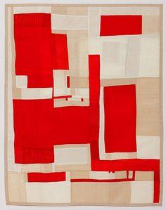 Debra Smith, Making Visible #2 2013, Pieced vintage silk