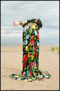 Lena Hardt in 'The Gait' by Tanya Posternak & Zhenya Posternak for Vogue Russia August 2017 Character Costumes, Vogue Russia, Harpers Bazaar, Character Design Inspiration, Fashion Colours, Aesthetic Pictures, Flower Power, Editorial Fashion, Fashion Photography