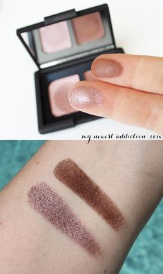 NARS Dolomites Eyeshadow Duo Swatches