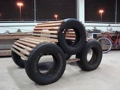 Do not throw used tires to the home improvement page - conservatory ideas # ge . - Do not throw used tires to the home improvement page – conservatory ideas # used side - Tire Furniture, Garage Furniture, Automotive Furniture, Automotive Decor, Recycled Furniture, Furniture Design, Furniture Stores, Tire Craft, Design Garage