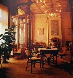 HOTEL SOLVAY A BRUXELLES réalisé par VICTOR HORTA