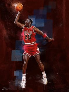 The New ROBERT BRUNO's illustration : http://www.robertbrunoillustration.com/ Michael Jordan
