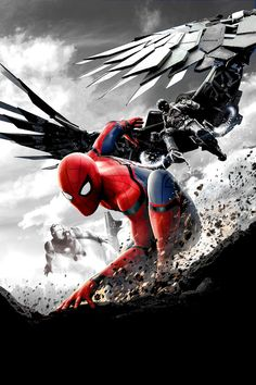 Watch two new trailers for Marvel's 'Spider-Man: Homecoming' starring Tom Holland, Michael Keaton, and Robert Downey Jr. Michael Keaton, Spider Man Homecoming 2017, Spiderman Homecoming Movie Download, Tom Holland, Streaming Movies, Hd Movies, Movies Online, Movie Film, Hd Streaming