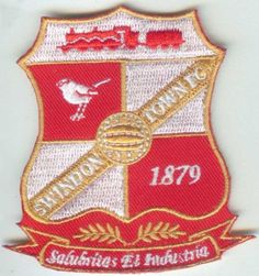 Swindon Town English England Premier League Football Soccer Badge Patch