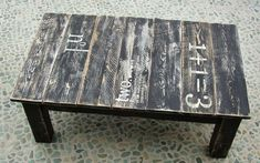 How to Make DIY Pallet Wood Rustic Coffee Table | My Home Decor Guide