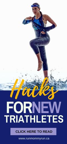 I wanted to share with you a few triathlon hacks I learned this year that helped me on my first triathlon. #triathlon #hacks