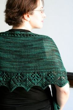 Asking for Roses Shawl.  Can't wait to knit this!