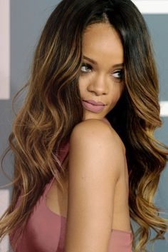 rihanna wavy hair - Google Search