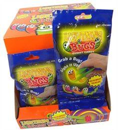 Lightning Bug Gummi Candy 12ct: BlairCandy.com