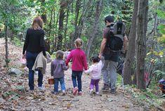 """Una excursión con niños al Montseny. La ruta """"el sot de l'infern"""": circular, sencilla y con lugar para picnic y juegos infantiles."""