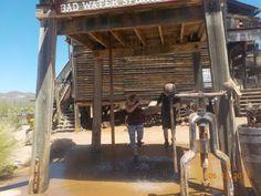 Znalezione obrazy dla zapytania old water tower at Goldfield Ghost Town