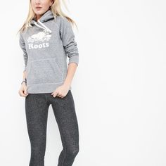 Shop Roots Online For Our Lifestyle Collection Of Womens Sweatshirts And Hoodies Featuring Our Exclusive Roots Salt And Pepper Original Kanga Hoody Salt And Pepper, What To Wear, Autumn Fashion, Lingerie, Fashion Outfits, Suits, Hoodies, The Originals, My Style