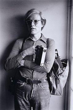 Gerard MALANGA photo of Andy Warhol