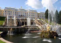 Peterhof Palace-- I have wonderful memories of this place.  A must see!