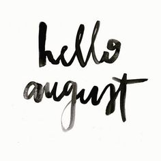 Yes! The best month is here  #HelloAugust - the Sunday of Summer! My birthday month & new clients coming on board for some serious @gemmediamk #promotion ! #HappyMonday