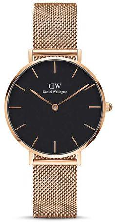 Daniel Wellington Classic Petite Watch, 32mm | #danielwellington #watches #watch #wristwatch #accessories #accessory #jewelry #womensfashion #bossbabe