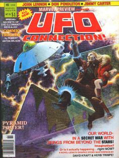 Marvel Preview #13, UFO Connection, Winter 1978, VF/NM, Jim Starlin cover artwork, $5.40
