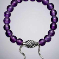 David Yurman Spiritual Bead Bracelet, Amethyst