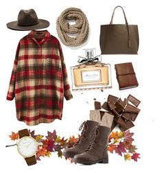 """Fall"" by renatamarquess on Polyvore featuring Nearly Natural, Brooks Brothers, Charlotte Russe, Street Level, rag & bone, Old Navy, Larsson & Jennings and Christian Dior"