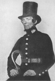 Uniform of a 'Peeler' - the first British police force created by Sir Robert Peel in 1829