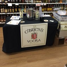 O'BRIEN'S VODKA O'Brien's Irish Vodka. Say. No. More. Even the snobbiest Ketel One and Belvedere drinkers love O'Briens.  And if you're lucky enough to know Scituate's Vinnie or MaryAnne O'Brien then you're doubly happy to buy it. Find it a Curtis Liquors in Cohasset.