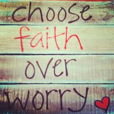 Feed Your FAiTH & Your Fears Will Starve!